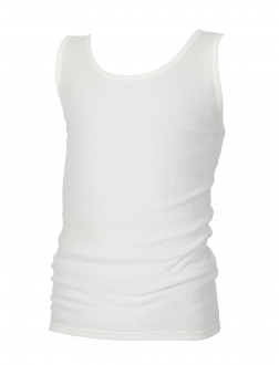 Doppelripp-Trägerunterhemd weiß_1 | 8