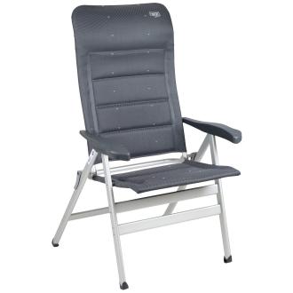 Deluxe Klappstuhl AL-238 XL mit extrabreiter Sitzfläche, Tragkraft bis 200 kg grau_30 | One Size
