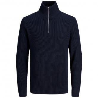 Leicht strukturiertes Sweatshirt marine_MARITIMEBLUE   3XL