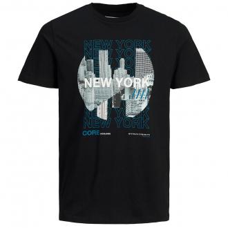"""T-Shirt aus Baumwolljersey mit """"New York""""-Print schwarz_BLACK   3XL"""