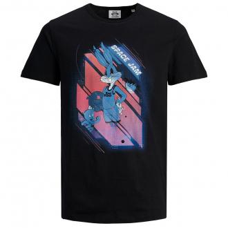 T-Shirt aus Baumwolljersey mit Comic-Print schwarz_BLACK | 3XL