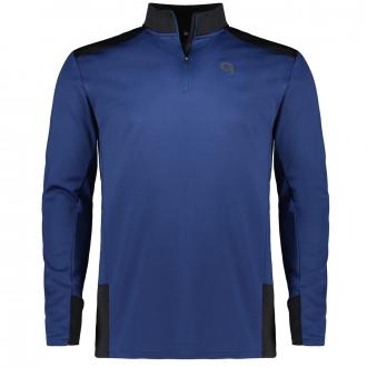 Fahrrad-Funktions-Shirt, langarm blau_352   3XL