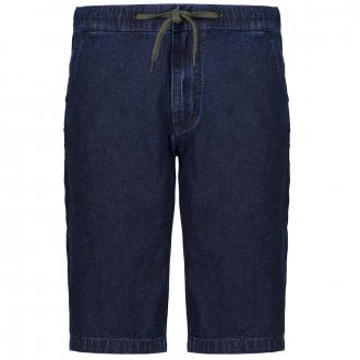 Jeansshort im Baumwoll-/Leinenmix blau_59Y8   3XL