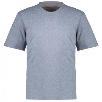 T-Shirt aus Baumwolljersey in Used-Optik grau_56W0/30 | 3XL