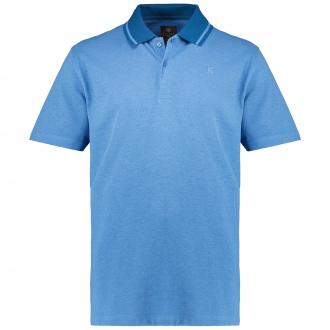 Poloshirt aus Baumwoll-Piqué, kurzarm blau_50707/40 | 3XL