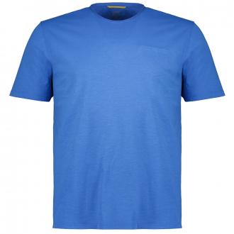 T-Shirt kurzarm blau_46 | 3XL