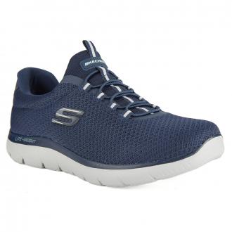 Sportlicher Sneaker zum Schlupfen mit WIDE-Leisten blau_NVY | 43