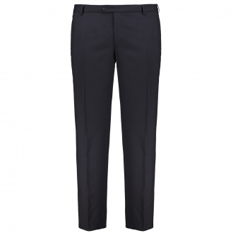Premium Baukasten-Anzughose mit Stretch, knitterresistent und fleckabweisend blau_20   29