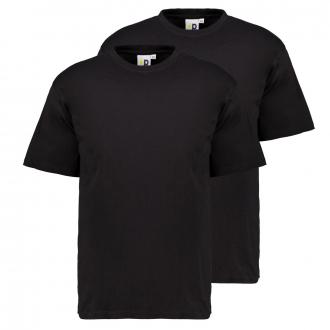 """Doppelpack T-Shirts """"Pfundskerl"""" mit Rundhalsausschnitt schwarz_15   3XL"""