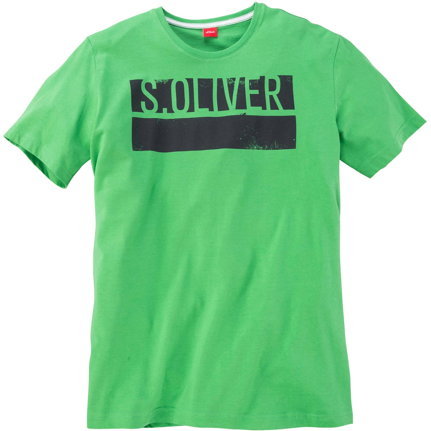 S oliver t shirt mit logo print kurzarm pfundskerl xxl for T shirt with logo printed