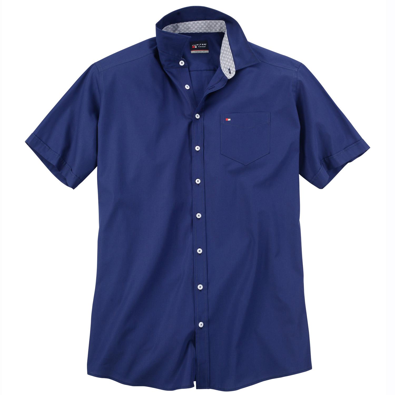 jupiter hemd klassisches kurzarmhemd mit brusttasche pfundskerl xxl. Black Bedroom Furniture Sets. Home Design Ideas