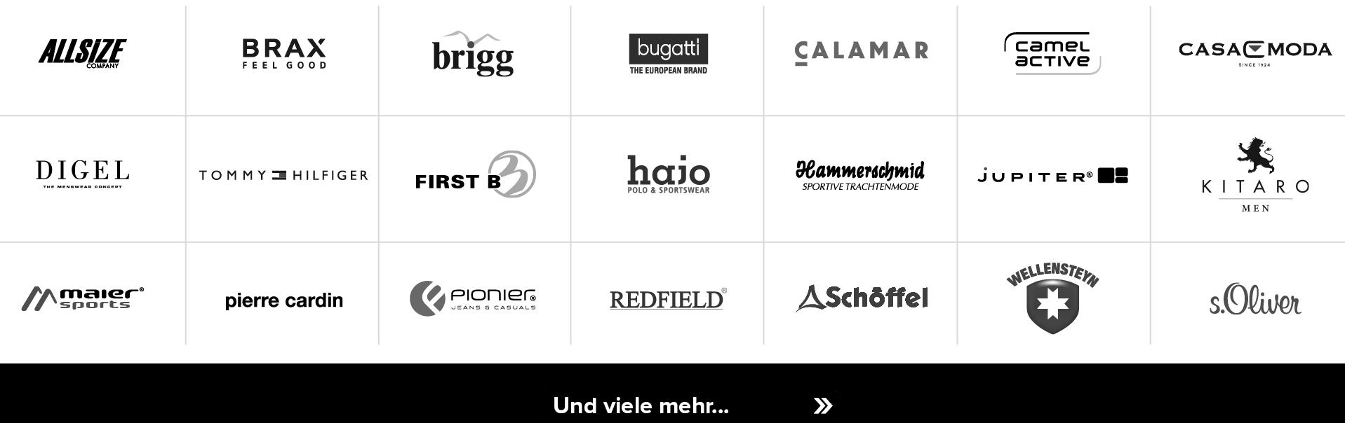 Schaltfläche zur Markenübersicht
