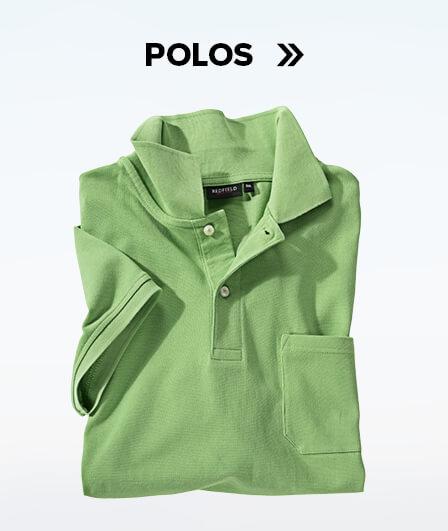 Schaltfläche für die Kategorie Poloshirts