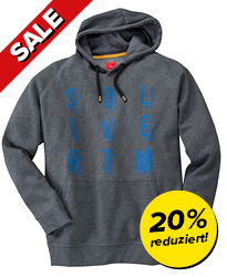Kapuzen-Sweatshirt mit Print