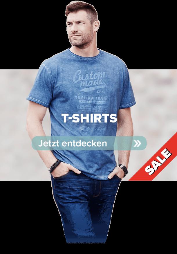 Schaltfläche zur Kategorie T-Shirts