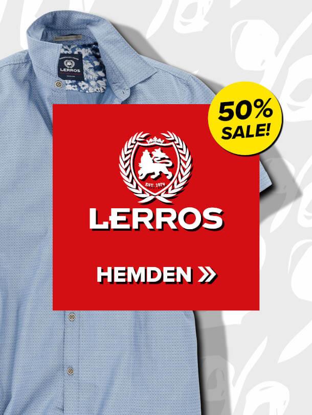 50% auf Lerros Hemden
