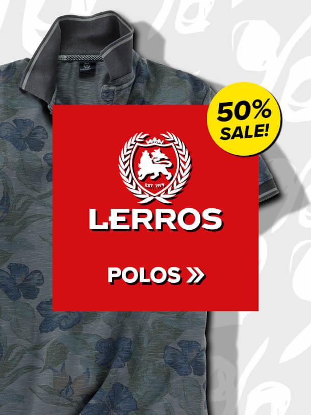 50% auf Lerros Polos