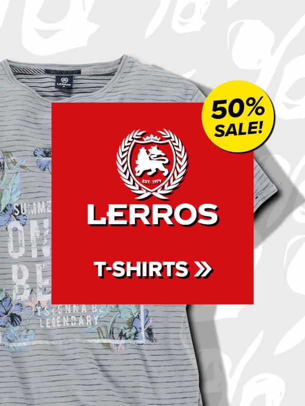 50% auf Lerros T-Shirts
