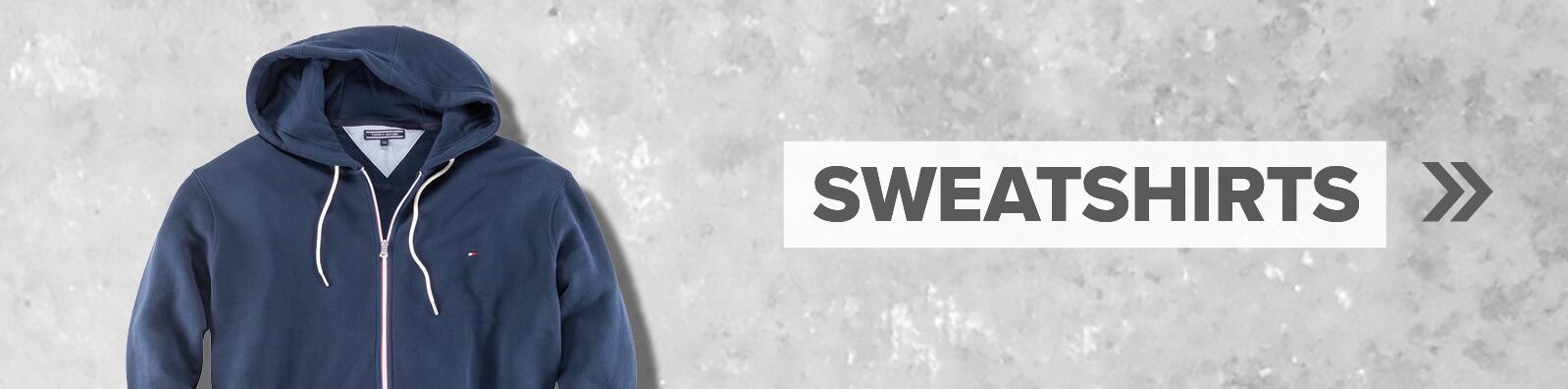 Schaltfläche für die Kategorie Sweatshirts