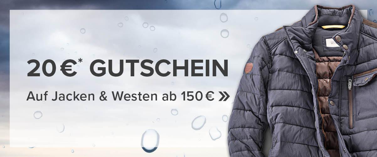 20 Euro Jacken Gutschein